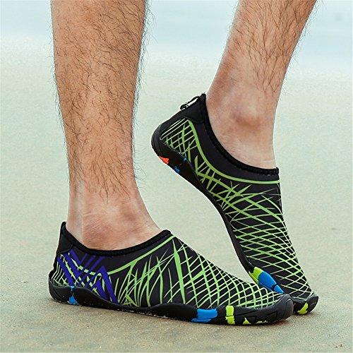 verano Deportes la Aqua buceo en Set Pies de libre SHINIK Zapatos Primavera de Zapatos Antideslizante de al natación descalzos Shoes estilo aire nuevo Ocio E Zapatos playa y qCCx4I1Uw