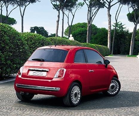 Fiat Ufficiale Originale 500 Posteriore Cromata Paraurti Protezione