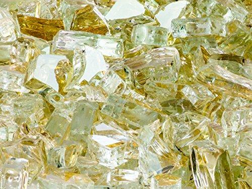 Quarter Inch Platinum Fire Glass, 10 Pound Bag Review