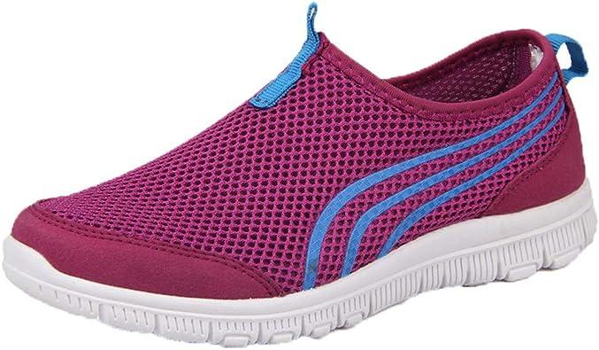 Zapatillas de Running para Mujer, Deportivas, Transpirables ...