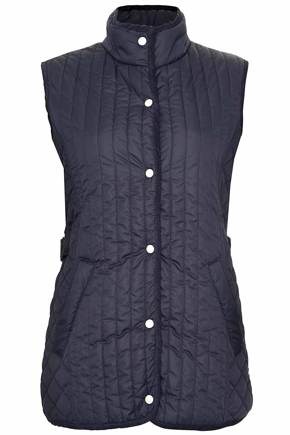 Champion Ladies Country Estate PressStud Closure Quilted Gilet Bodywarmer LGILET-1638