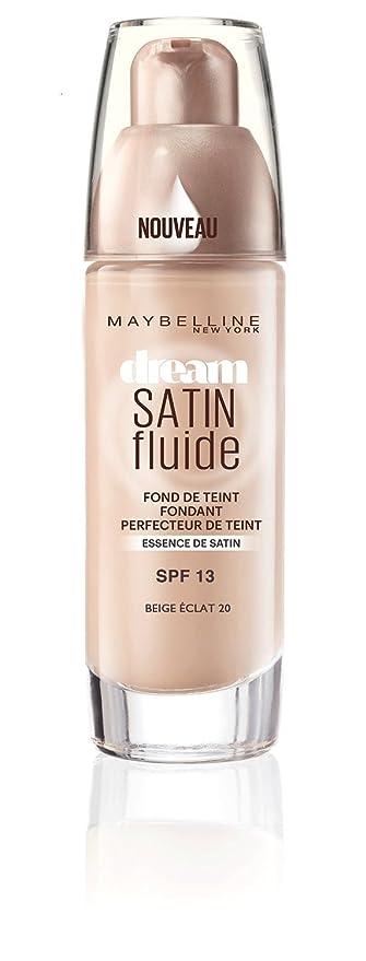 36725a6241f2 Maybelline Dream Satin Fluide Beige Dore 21  Amazon.fr  Beauté et Parfum