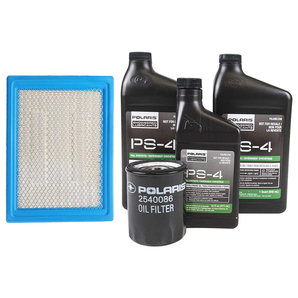 Polaris OEM Oil Change & Air Filter Kit 2013-2014 Ranger 900 XP All Options by Polaris