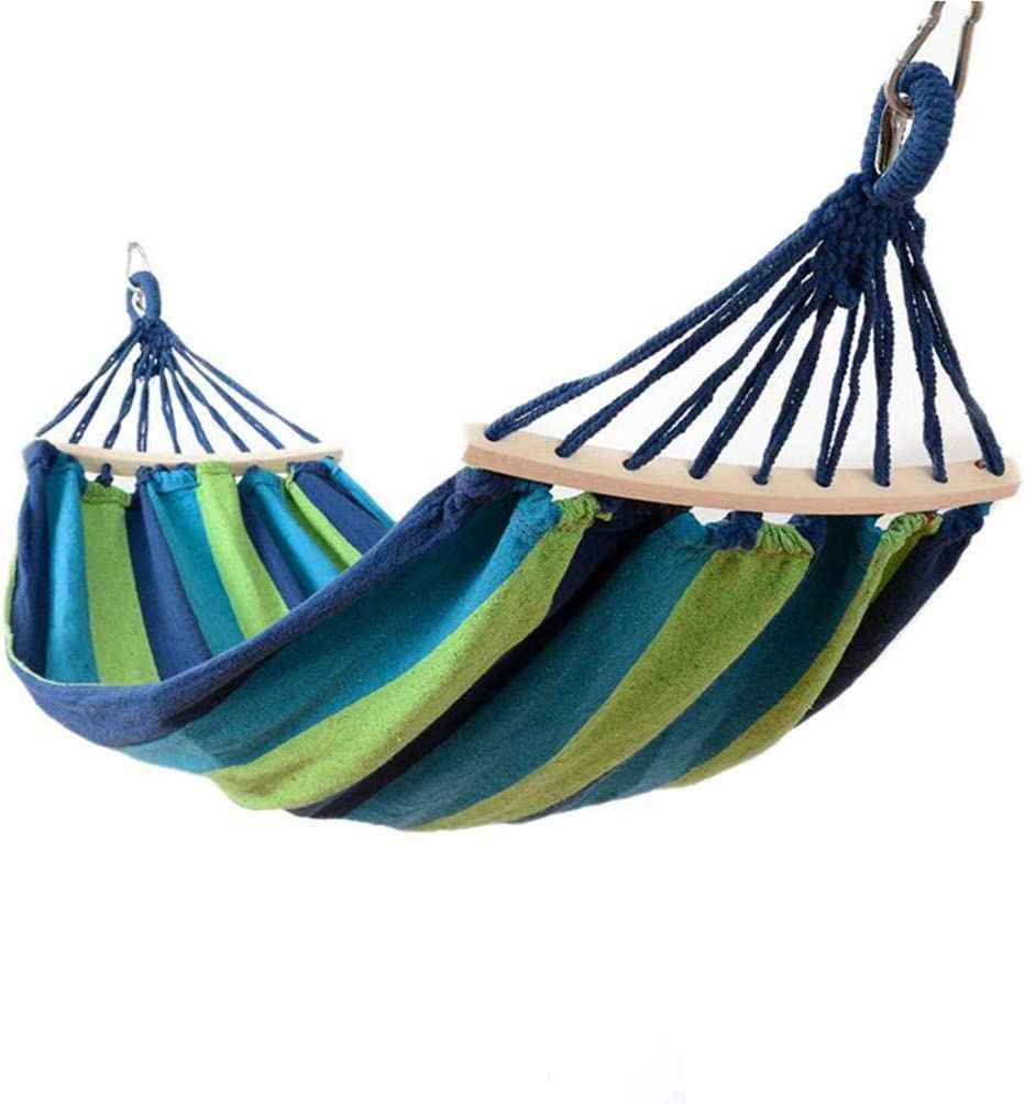 Kikole Portable Hammock Chair Camping Outdoor Garden Swing Chair Bed Hammock Hammocks