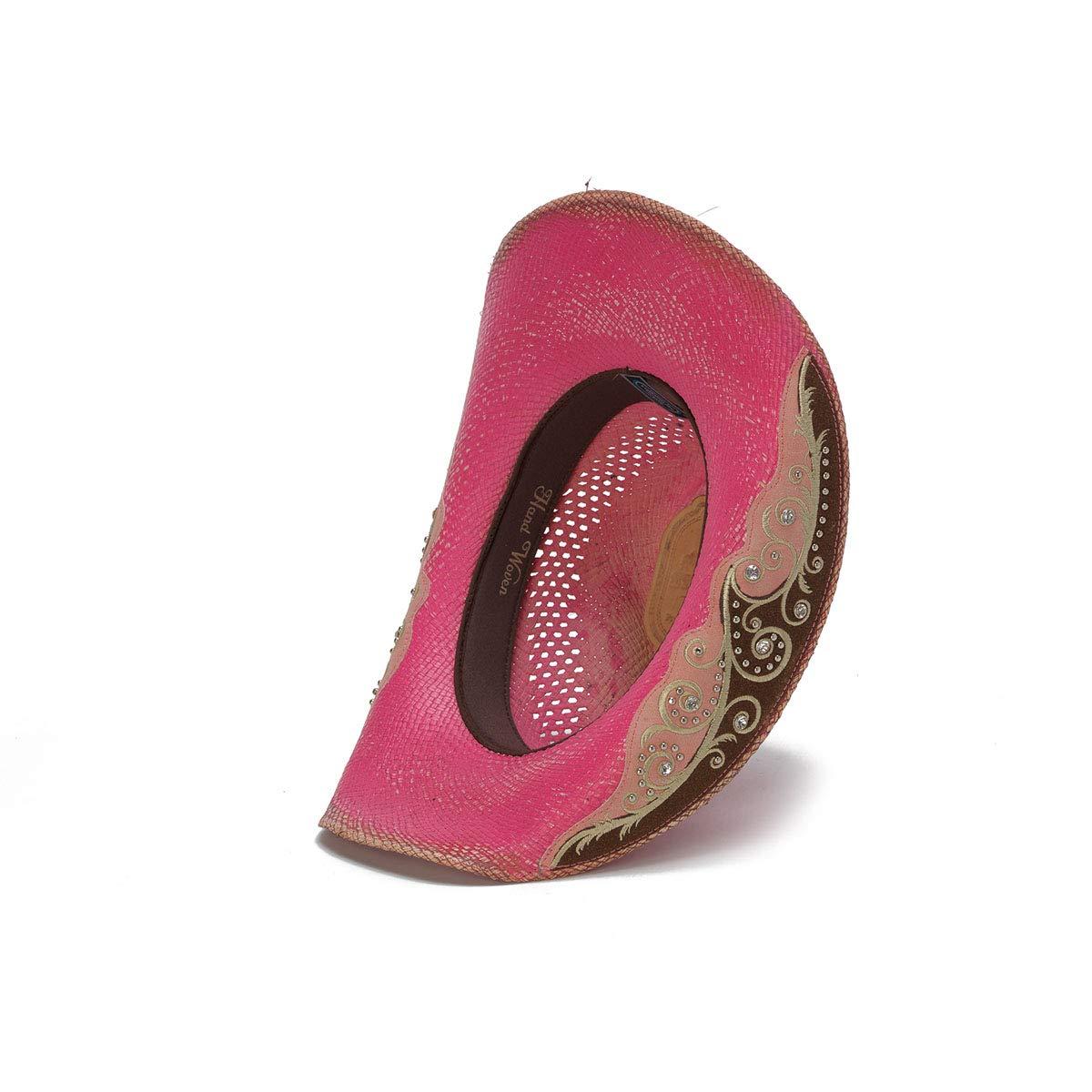 Stampede Hats Women's Burn The Breeze Flower Filigree Cowboy Hat S Pink by Stampede Hats (Image #5)