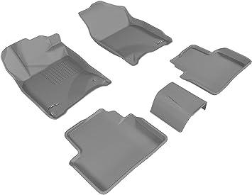 Kagu Rubber 3D MAXpider Cargo Custom Fit All-Weather Floor Mat for Select Honda Pilot Models Black