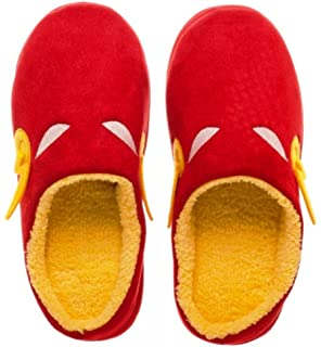 71f159a6ad4c Main Street 24 7 DC Comics The Flash Red Scuff Adult Size Plush Cozy  Slippers