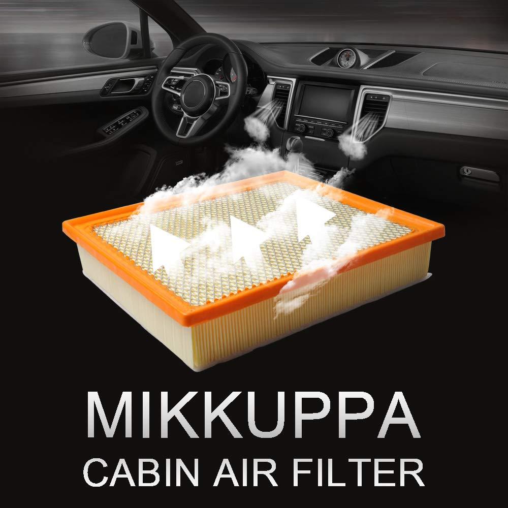 MIKKUPPA KQ127 for 2013-2018 Toyota Tundra // 2016-2018 Toyota Tacoma // 2014-2018 Toyota Sequoia 17801-0S020 Engine Air Filter CA11895