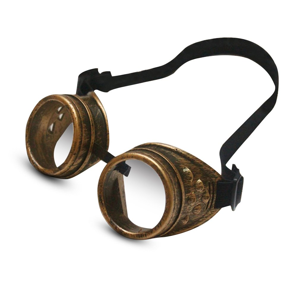 Steampunk Goggles for Women Halloween Cosplay Victorian Gothic Vintage Glasses