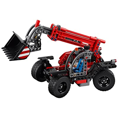 LEGO Technic Telehandler 42061 Building Kit: Toys & Games