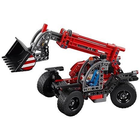 Amazon Lego Technic Telehandler 42061 Building Kit Toys Games
