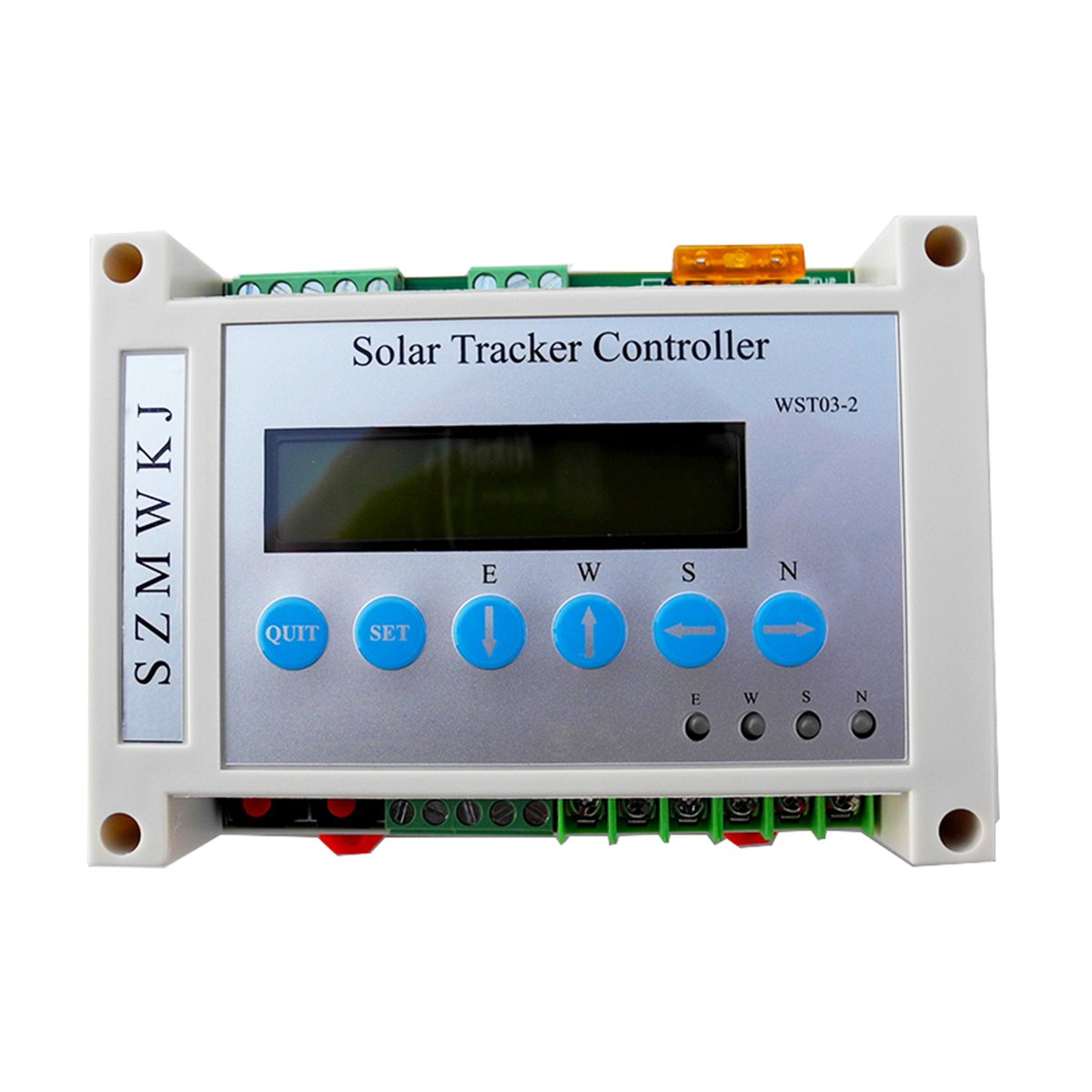 Szmwkj Dual Axis Solar Tracker Linear Actuator Simple And Wind Charge Controller Ne555 Ic Timer For Panel System Garden Outdoor