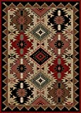 Rug Empire Rustic Lodge Southwest Southwestern Area Rug, 5'3''x7'3''