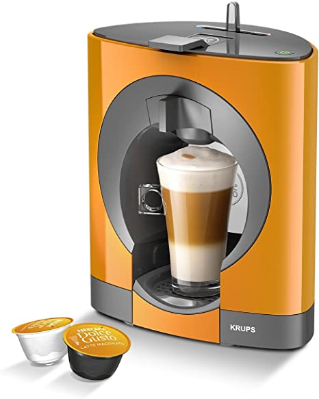 NESCAFE Dolce Gusto Oblo by KRUPS Coffee Capsule Machine - Orange: Amazon.es: Hogar