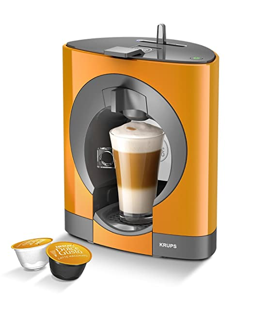 NESCAFE Dolce Gusto Oblo by KRUPS Coffee Capsule Machine - Orange ...