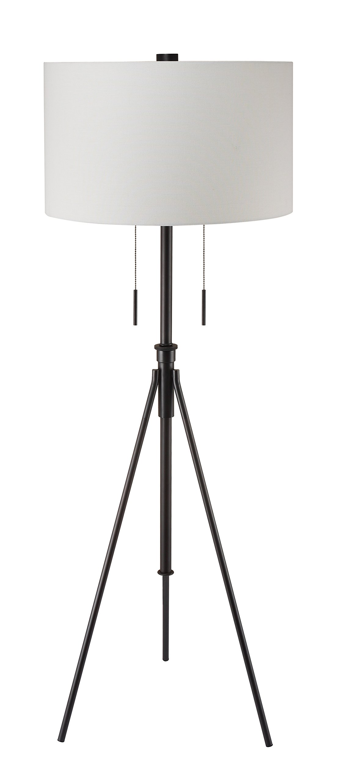 Decorator's Lighting 17056ORB Adjustable Tripod Floor Lamp H, 71.75'' H, Oiled Rubbed Bronze by Decorator's Lighting