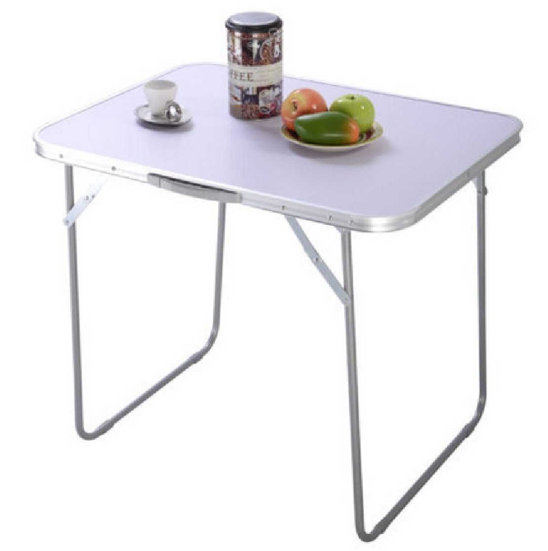 Portable Folding Table Coffee : In/Outdoor Picnic Party Dining Camping Desk 2FT by Phumon567