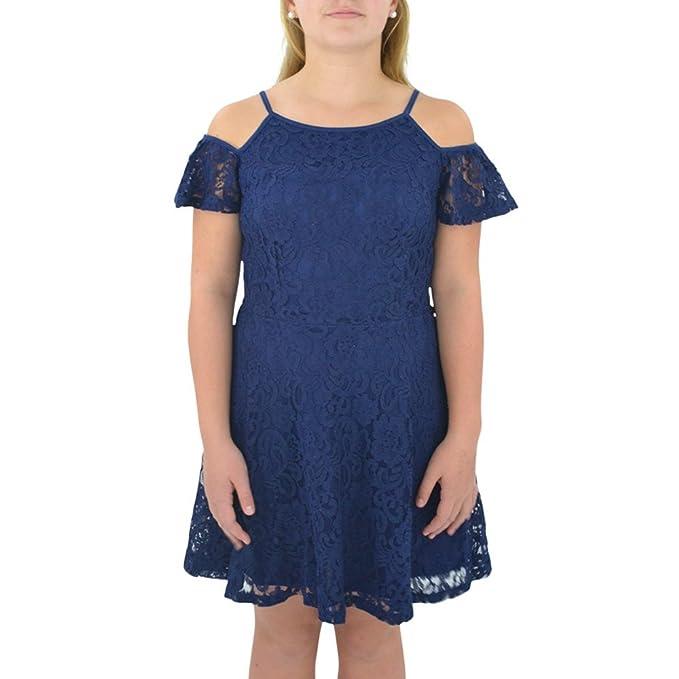 Amazon.com: Vestido de encaje de Kate Bella para niñas en ...