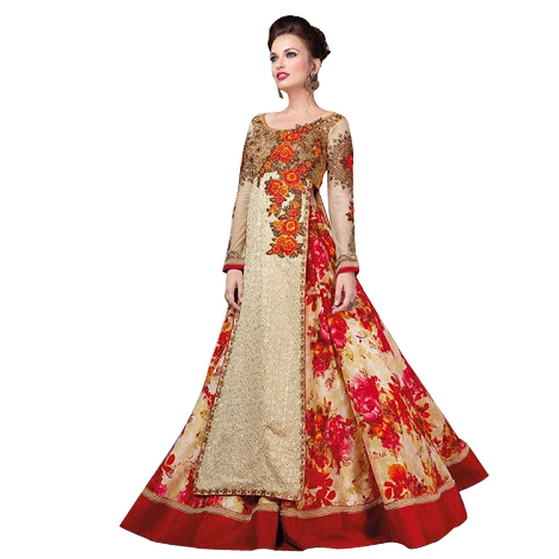Indian Bollywood Western Gown Anarkali Shalwar Kameez Suit Wedding Eid Muslim Women Dress Sexy Blouse Bra Punjabi