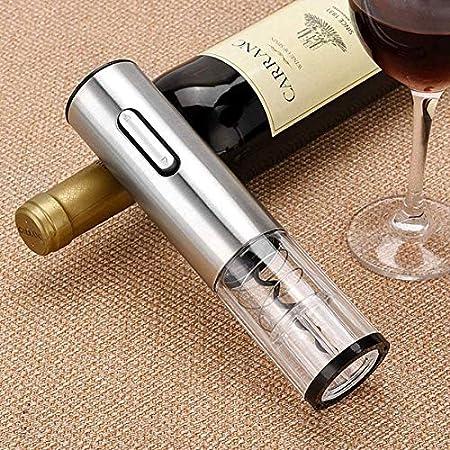 AILSAYA Juego De Abridor De Vino, Abridor De Vino Profesional con Sacacorchos, Amantes del Vino para El Hogar, Restaurante, Fiesta Y como Regalo (4 En 1)
