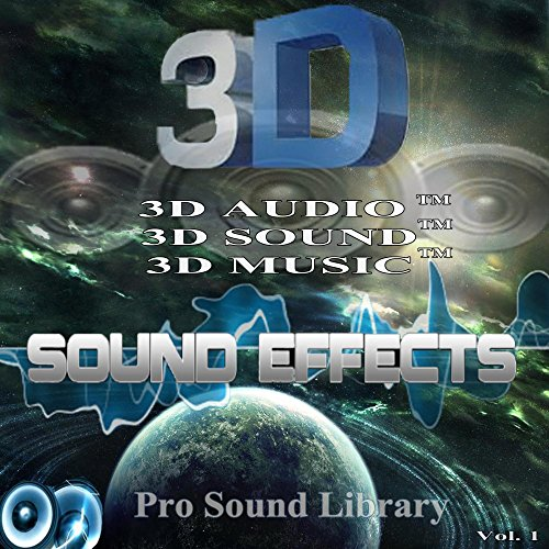 Pro Sound Library Sound Effect 6 3D Sound TM (Remastered) (Cams Pro)