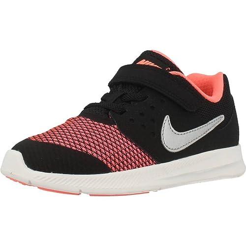 Zapatillas para niï¿œa, color Negro , marca NIKE, modelo Zapatillas Para Niï¿œa NIKE DOWNSHIFTER 7 Negro: Amazon.es: Zapatos y complementos
