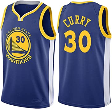 Lalagofe Stephen Curry,Warriors,Man Basketball Jersey Breathable Quick Drying Vest Competition Equipment Azul: Amazon.es: Deportes y aire libre