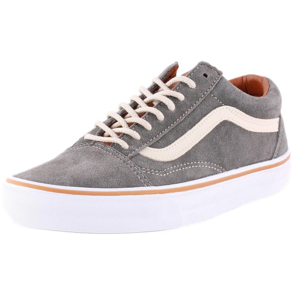 Vans Old Skool, Zapatillas de Estar por Casa Unisex Adulto 36.5 EU gris