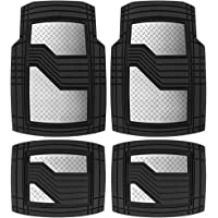 Custom Car Floor Mats for Buick Enclave 7-seat 2018-2020 All Weather Waterproof Non-Slip Full Covered Protection Advanced Performance Liners Car Liner Black