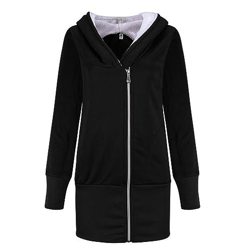 Internet Sudadera con capucha de bolsillo para mujer sudadera con capucha blusas con capucha