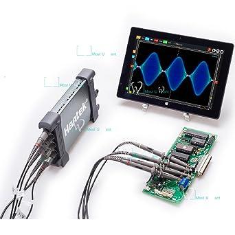 Amazon.com: Osciloscopio digital Hantek PC 250 MHz 400,000 ...