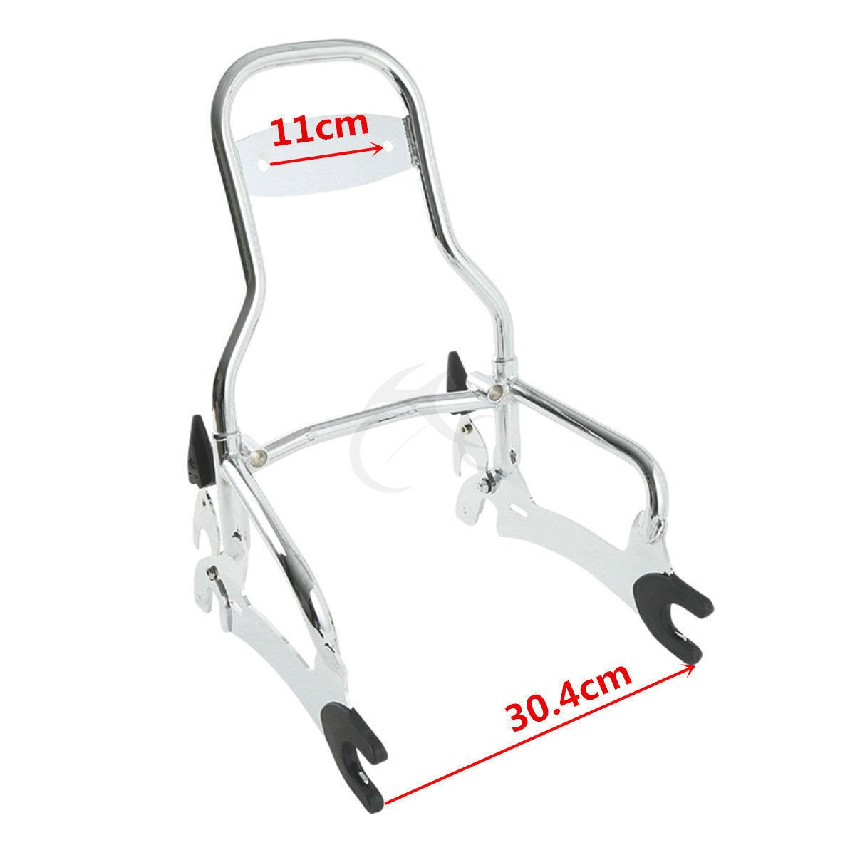 XFMT Backrest Sissy Bar W//Luggage Rack Compatible with Indian Chief Classic Vintage 2014-2018 Chief Dark Horse 2016-2018