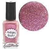 Lynnderella Limited Edition—Coral Peach Shimmerella Nail Polish—Made You Blush!