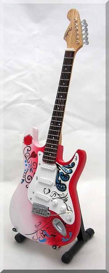 John Mayer Guitarra en miniatura de Jimi Hendrix Monterey ...
