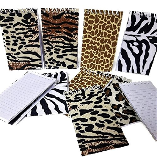 (Spiral Animal Print Note Book (24)