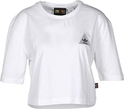 e5fcaf6350e57 adidas Originals Womens Womens Pharrell Williams HU Loose T-Shirt in White  - 16  adidas Originals  Amazon.co.uk  Clothing