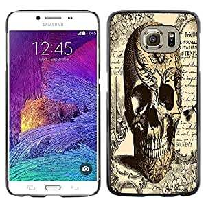 Dragon Case - FOR Samsung Galaxy S6 - .I know all the things? - Caja protectora de pl??stico duro de la cubierta Dise?¡Ào Slim Fit