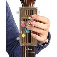 Ecisi Dispositivo de Sistema de Aprendizaje de acordes de Guitarra Herramienta de práctica de acordes de Guitarra para Principiantes, Herramienta de lección de acordes de Ayuda