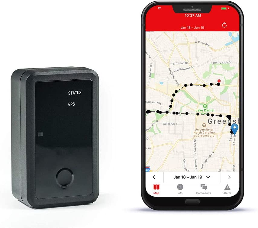 Logistimatics Asset-422 GPS Tracker with 3 Year Battery Life for Equipment and Property Long Term Tracking 1 Ping Per Day
