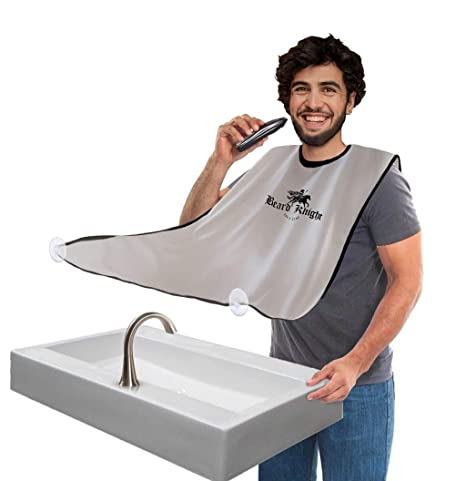Beard Apron | Hair Clippings Catcher with Bag