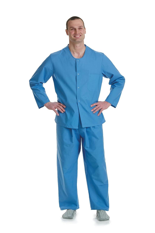 Medline mdttp4s04blu paciente psiquiátrico (Tops de pijama ...