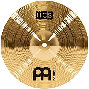 meinl cymbals hcs10s 10 hcs brass splash cymbal for drum set video musical. Black Bedroom Furniture Sets. Home Design Ideas