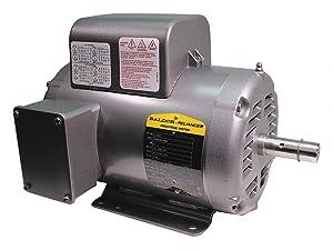 Baldor L1322T General Purpose AC Motor, Single Phase, 145T Frame, Open Enclosure, 2Hp Output, 1725rpm, 60Hz, 115/208-230V Voltage