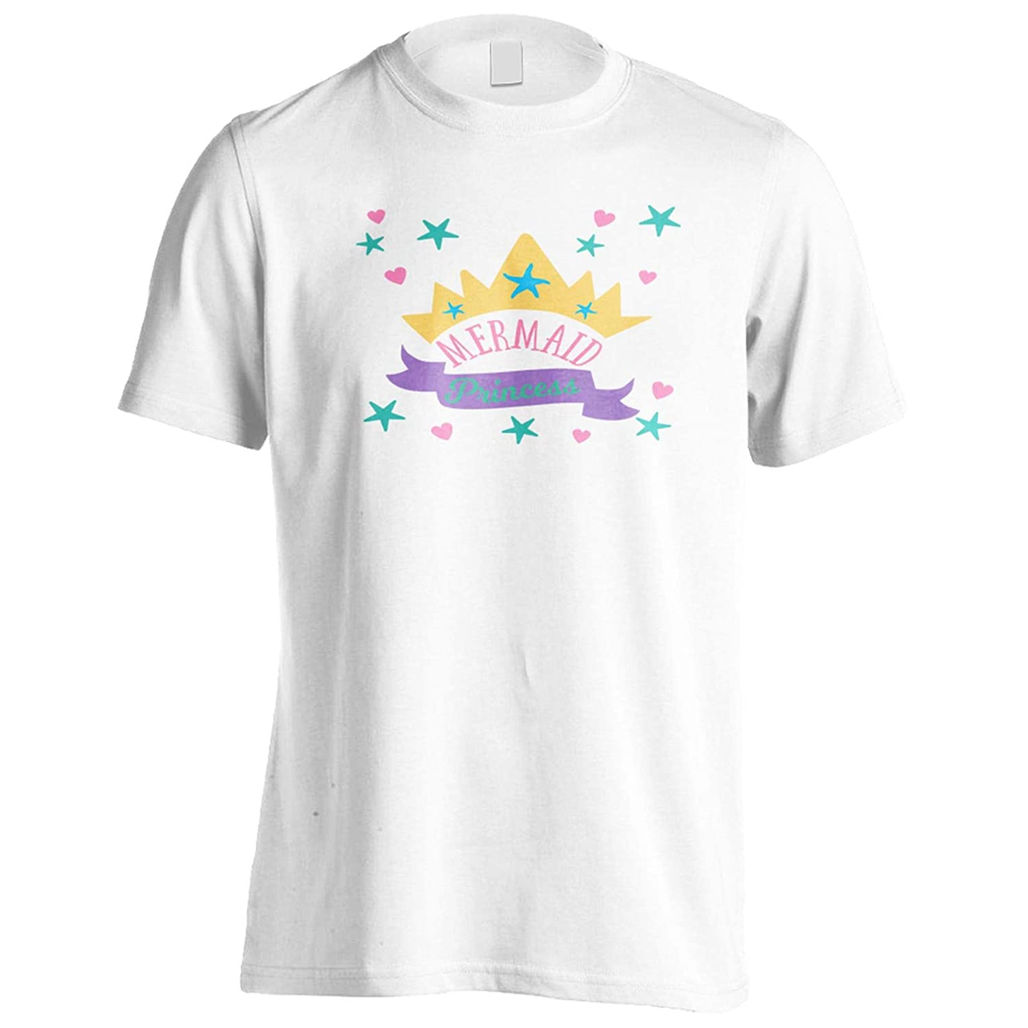 Mermaid Princess Mens T-Shirt Tee gg386m