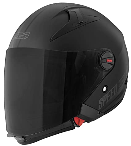 Speed and Strength Spin Doctor Adult SS2210 Street Motorcycle Helmet - Titanium / Large