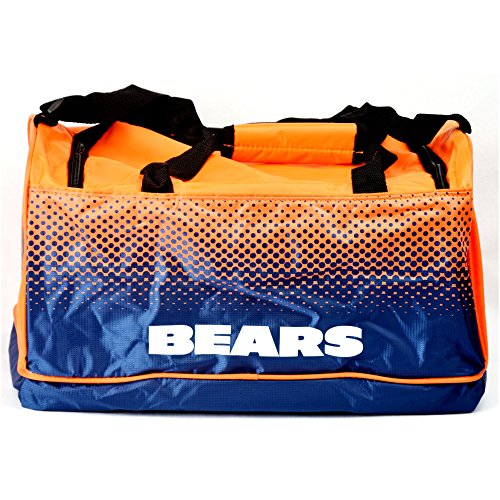 NFL Football CHICAGO BEARS HoldAll Fade Bag Tasche Sporttasche NuS3ZZV0tS