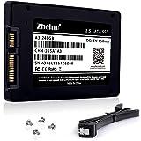 Zheino SSD 240GB 内蔵2.5インチ 7mm 3D Nand 採用 SATA III 6Gb/s 3年保証