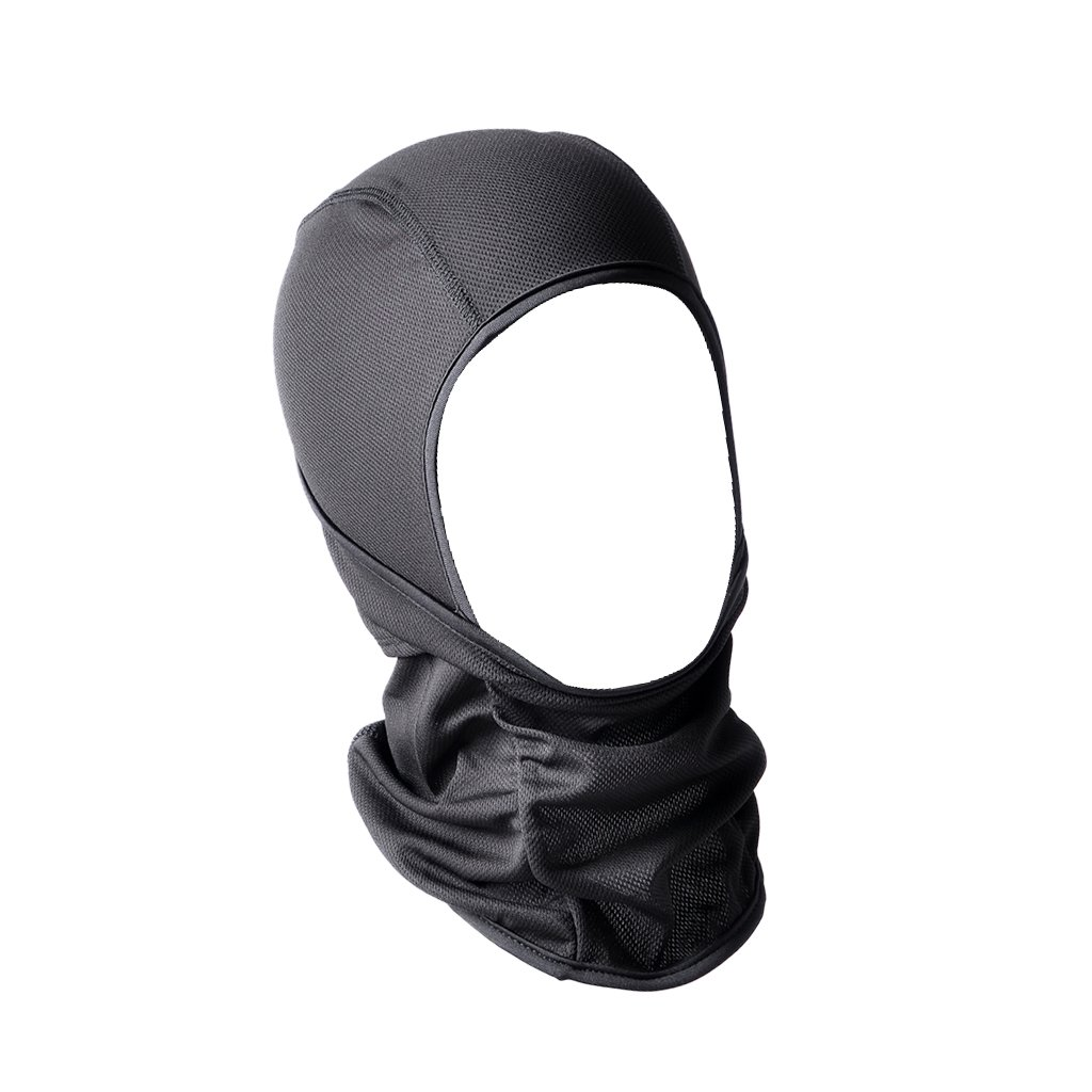 MagiDeal Windpoof Full Face Mask Neck Warmer Ski Motorcycle Cycling Dust Mask Black