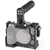 SMALLRIG A7RIII, A7 III Camera Cage for Sony A7riii,A7iii (A7r3,A73) Case Accessorry Kits Handle, HDMI Cable Lock - 2096