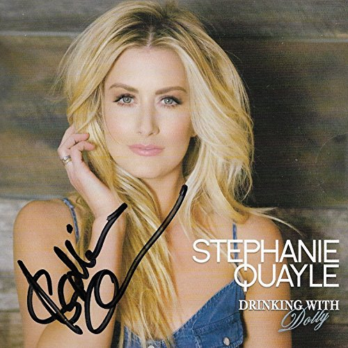 stephanie-quayle-country-real-hand-signed-drinking-with-dolly-cd-single-coa-1
